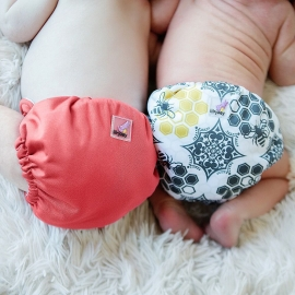Многоразовые подгузники для новорожденных Lil Joey Kanga Care 2 шт. Spice