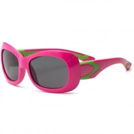 Детские солнцезащитные очки Real Kids 7+ Breeze для девочек с поляризацией розовый/салатовый