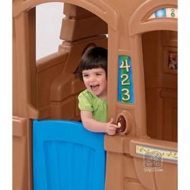Детский домик с грилем