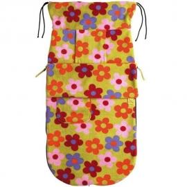 Флисовый конверт Buggysnuggle Bright Flower Fleece