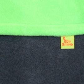 Флисовый конверт Buggysnuggle Combi Charcoal Lime