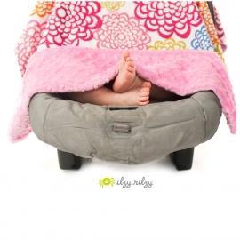 Муслиновая накидка на автокресло Itzy Ritzy Sweet Dreamcatcher, Pink