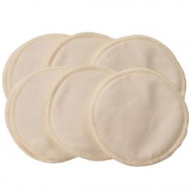 Вкладыши в бюстгальтер многоразовые Itzy Ritzy Cream