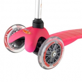 Самокат Mini Micro розовый для детей от 1,5 до 5 лет
