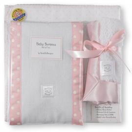 Подарочный набор для новорожденного Gift Set Pstl Pink Dot
