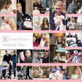 Комфортер платочек обнимашка Baby Lovie - Flannel Pstl. Pink Dot