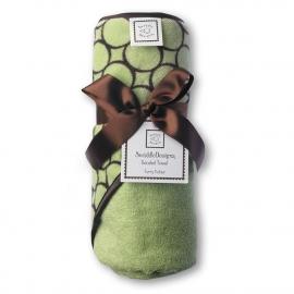 Полотенце с капюшоном Hooded Towel Lime w/BR Mod C