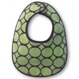 Слюнявчики Bibs SwaddleDesigns на возраст до 1 года Lime w/BR Mod C