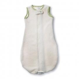 Спальный мешок для детей SwaddleDesigns эко флис TOG 1.5 Organic zzZipMe 3-6 М Kiwi Trim