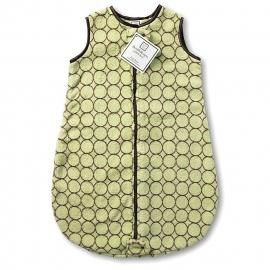 Спальный мешок детский SwaddleDesigns zzZipMe 6-12 М Lime w/BR Mod C