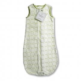 Детский спальный мешок SwaddleDesigns zzZipMe 3-6 М Kiwi Puff Circle
