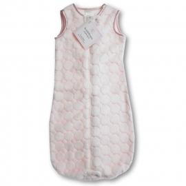 Детский спальный мешок SwaddleDesigns zzZipMe 12-18 М Pstl Pink Puff Circles