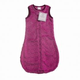 Детский спальный мешок SwaddleDesigns zzZipMe 6-12 М VL Puff w/Dk Satin