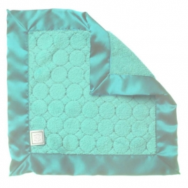 Платочек обнимашка Baby Lovie-плюшевая нежность Turquoise Puff C