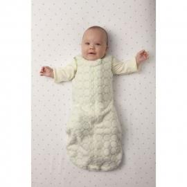 Детский спальный мешок SwaddleDesigns zzZipMe 3-6 М Ivory Puff w/Blue