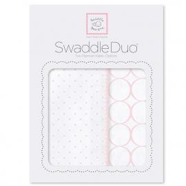 Набор пеленок SwaddleDesigns Swaddle Duo Pstl Pink Classic