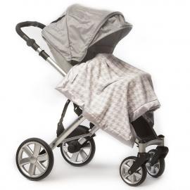 Плед детский SwaddleDesigns Stroller Blanket ST Puppytooth