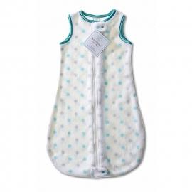 Детский спальный мешок SwaddleDesigns zzZipMe 12-18 М SC & Sterling Dot