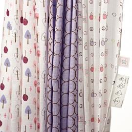 Набор пеленок SwaddleDesigns SwaddleLite Cute & Calm Lavender