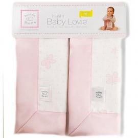 Комфортеры Muslin baby Lovies Pink Butterflies