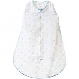 Спальный мешок Muslin zzZipMe Sack - 3-6M Blue Dots
