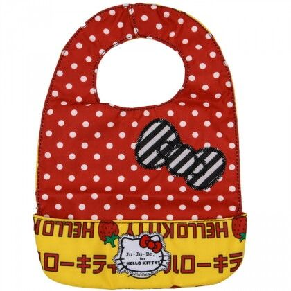 Слюнявчик Ju-Ju-Be Be Neat Hello Kitty strawberry stripes