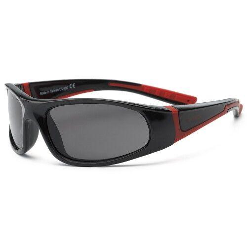 Детские солнцезащитные очки Real Kids Bolt 4+ черный/красный