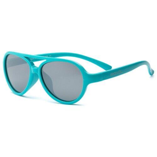 Детские солнцезащитные очки Real Kids Авиаторы 7+ аквамарин
