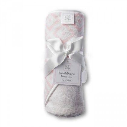 Полотенце с капюшоном Hooded Towel Pink w/PT Mod C