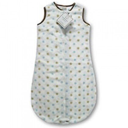 Флисовые детские спальные мешки Gold Dots