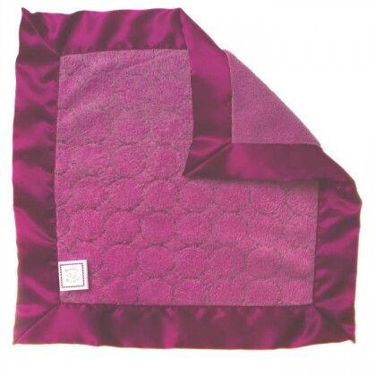 Платочек обнимашка Baby Lovie-плюшевая нежность Violet Puff Circle