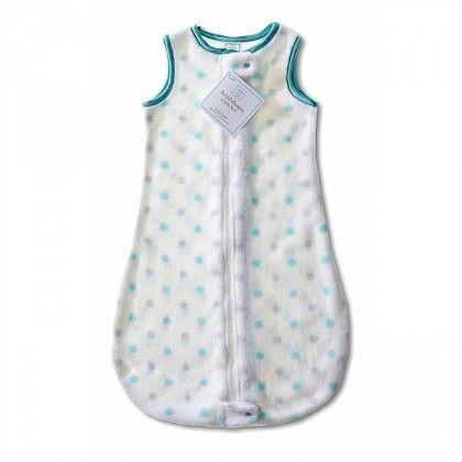 Детский спальный мешок SwaddleDesigns zzZipMe 6-12 М SC & Sterling Dot