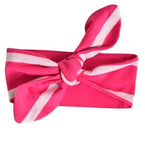 Повязка Itzy Ritzy Pink Peony Stripe