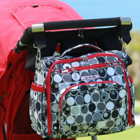 Крепления для колясок Be Connected Clips Ju-Ju-Be Silver