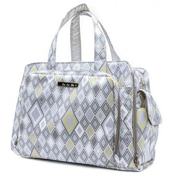 Дорожная сумка Ju-Ju-Be Be Prepared silver ice