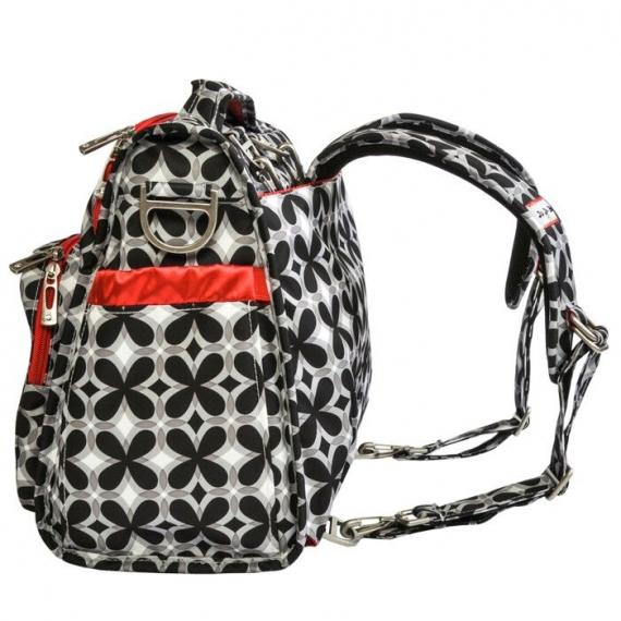 Сумка рюкзак для мамы Ju-Ju-Be B.F.F. crimson kaleidoscope