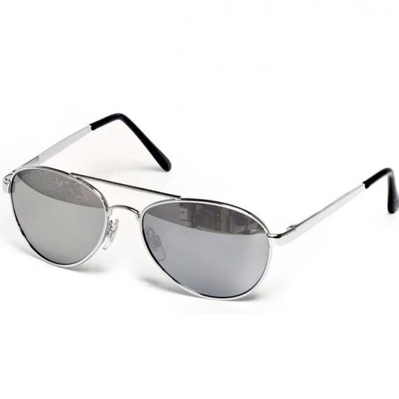 Очки для взрослых и подростков FLY цвет серебро