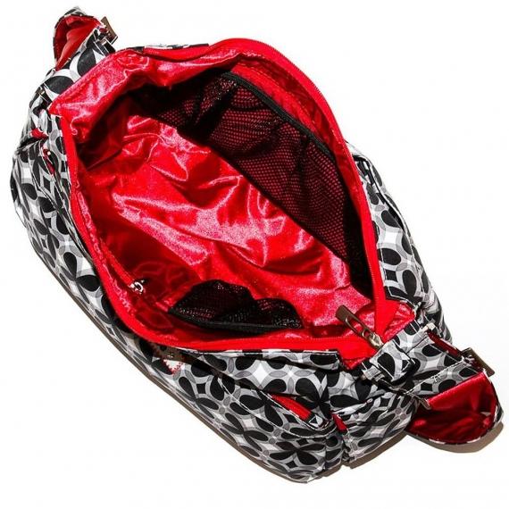 Сумка для мамы Ju-Ju-Be HoboBe crimson kaleidoscope