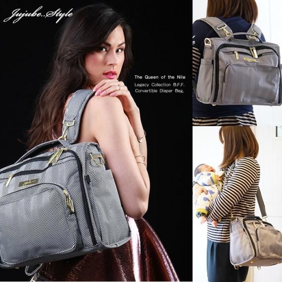Сумка рюкзак для мамы Ju-Ju-Be B.F.F. Legacy queen of the nile
