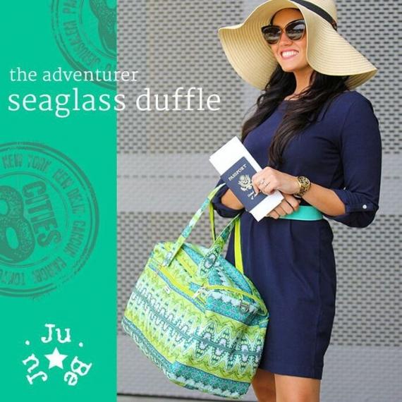 Сумка для путешествий Ju-Ju-Be Starlet - sea glass