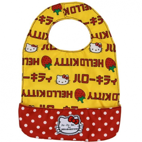 Слюнявчик Ju-Ju-Be Be Neat Hello Kitty strawberry stripes