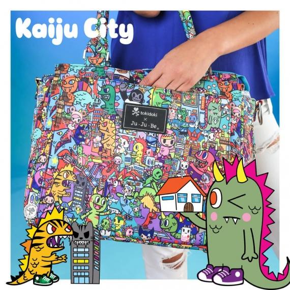 Сумка для мамы Ju-Ju-Be Be Classy Tokidoki Kaiju City
