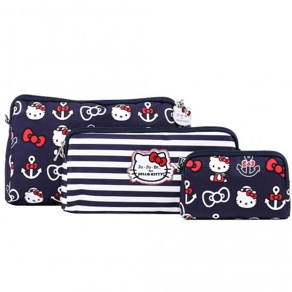Сумочки 3 шт. Be Set Ju-Ju-Be Hello Kitty out to sea
