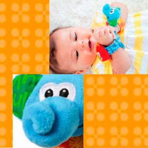 """Развивающая игрушка """"Браслеты-погремушки"""" infantino"""