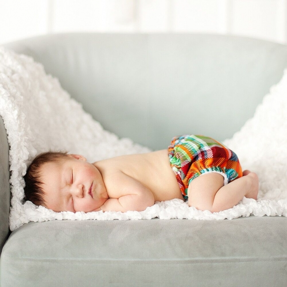 Обложка подгузник Newborn Aplix Cover Kanga Care Quinn