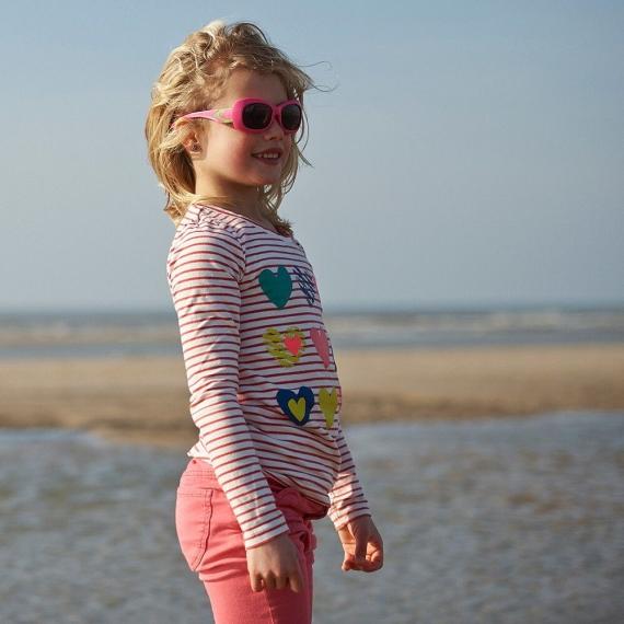 Детские солнцезащитные очки Real Kids Breeze 4+ вишня/лайм