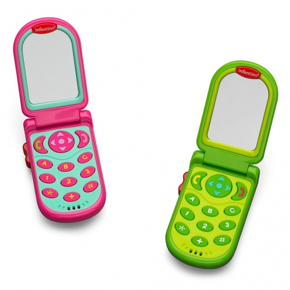 """Развивающая игрушка """"Розовый Телефон"""" infantino"""