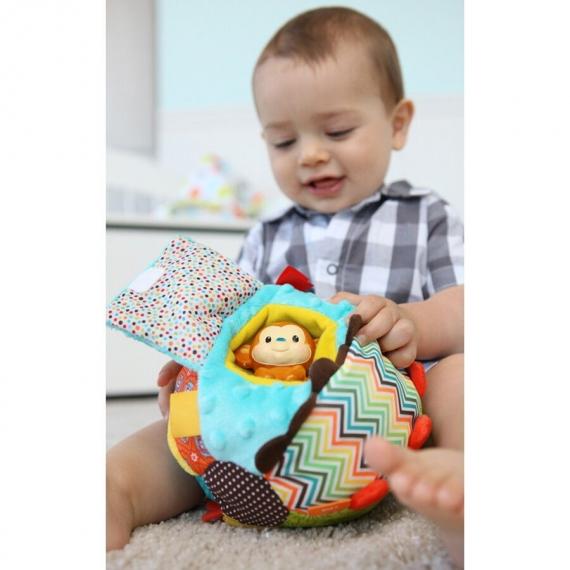 """Развивающая игрушка """"Мячик с обезьянкой"""" infantino"""