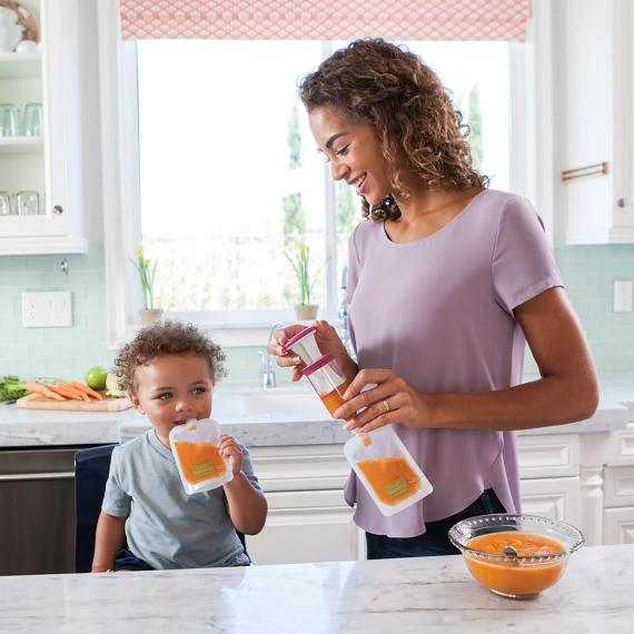 Компактный фасовщик домашнего питания Squeeze infantino fresh