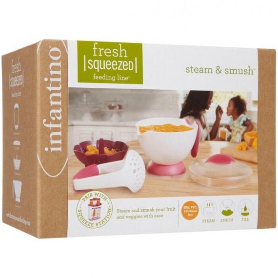 Паровая чаша-блендер Steam and Smush infantino fresh